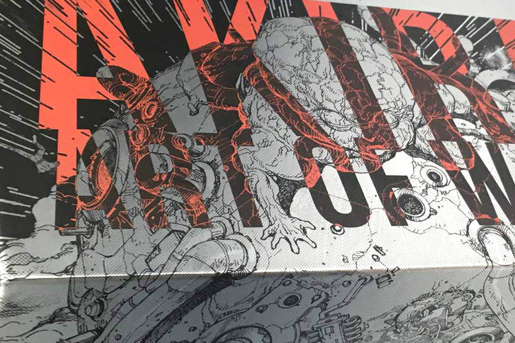 Akira Art Of Wall Art Book Preview