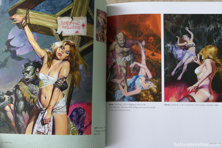 Sex And Horror - The Art Of Alessandro Biffignandi Book
