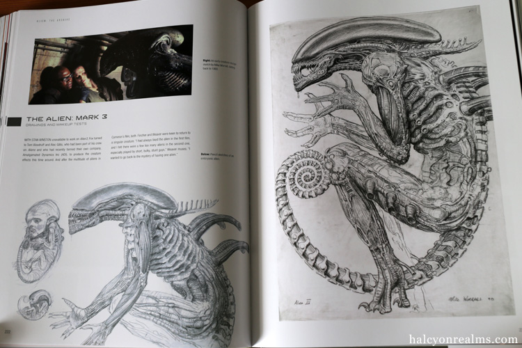 Alien The Archive Art Book Review