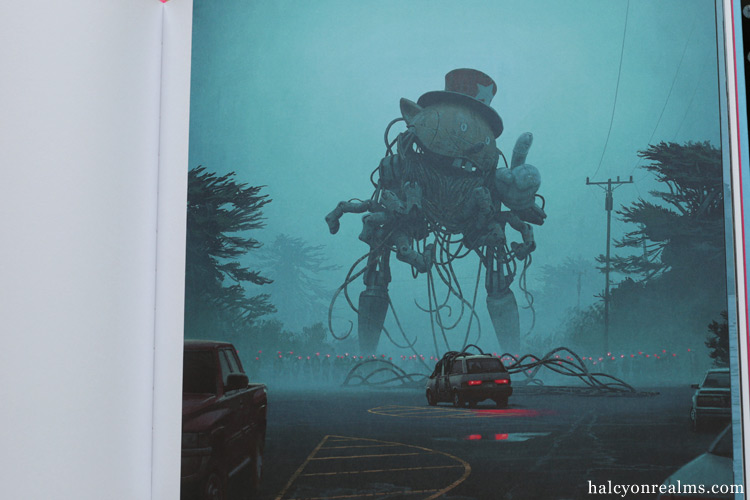 The Electric State - Simon Stålenhag Art Book Review