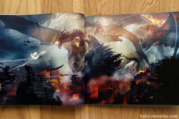 The Art Of Godzilla - King Of The Monsters Book Review