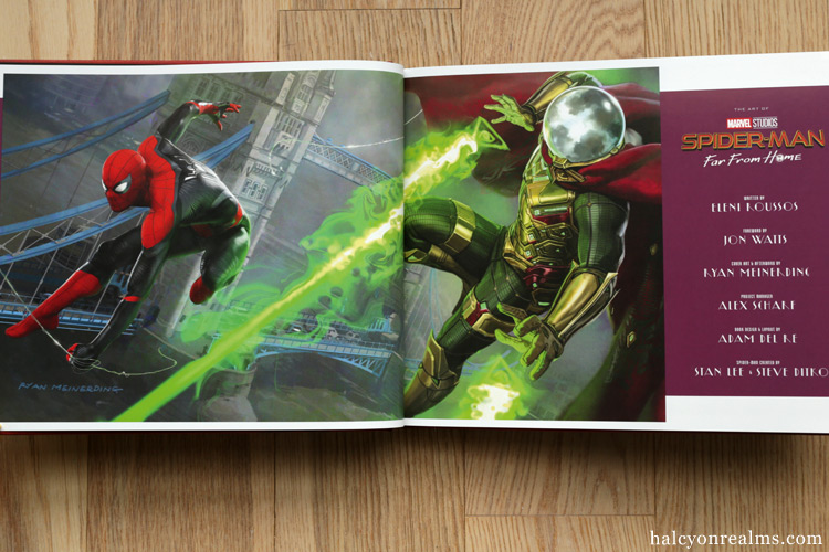 Spider-Man : Far From Home - The Art of the Movie Book Review