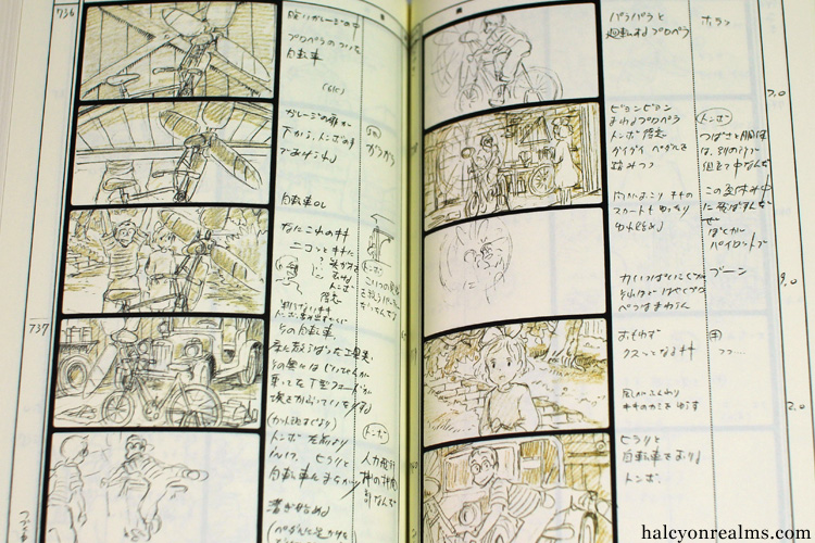 Kiki's Delivery Service Storyboard Art Book Review